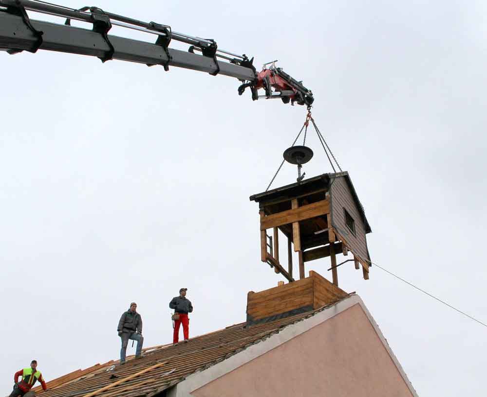 Umbau Feuerwehrhaus FF Inprugg